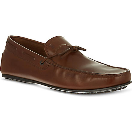 TODS City tie driving shoes (Brown