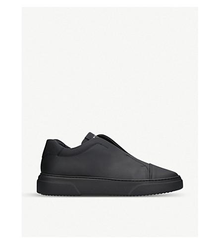 HARRYS LONDON管革套穿款运动鞋 (黑色