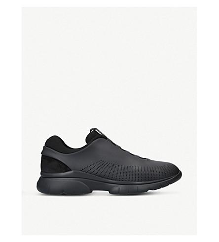 ERMENEGILDO ZEGNA Sprinter 2.0 leather trainers (Black