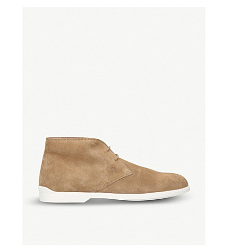 TODS Sports suede chukka boots (Beige