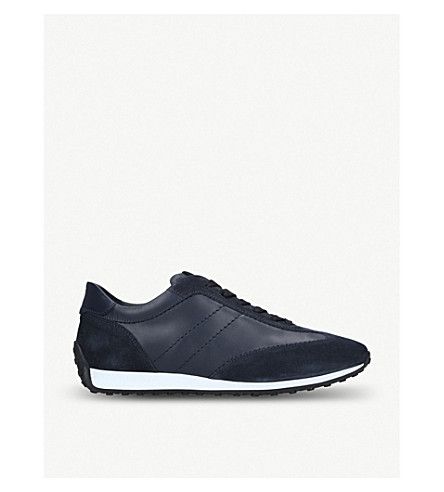 TODS Sportivo '78 leather trainers (Navy