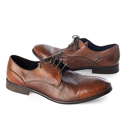 H BY HUDSON Dylan Derby shoes (Tan