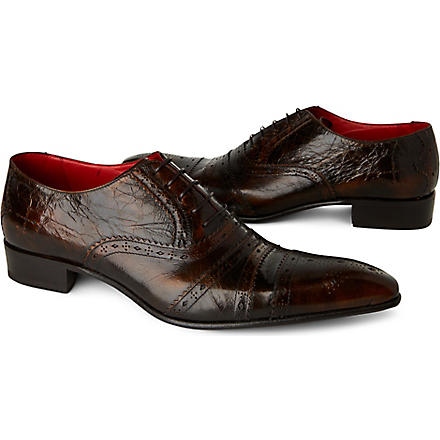 JEFFERY WEST Zante Oxford shoes (Tan