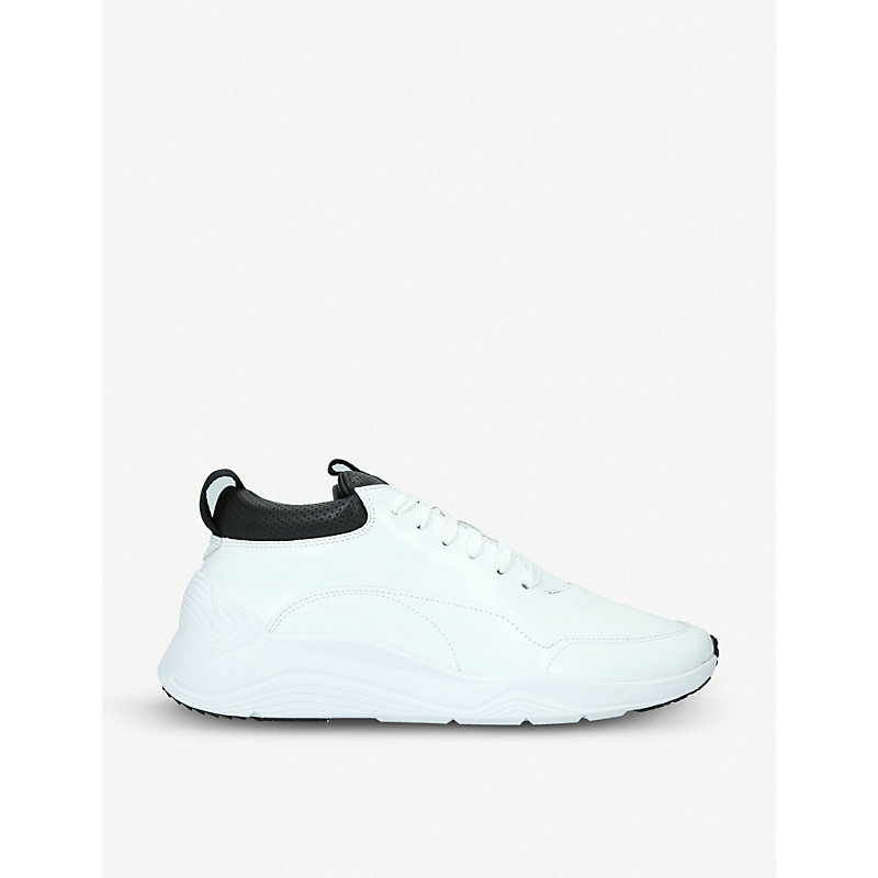 MCQ BY ALEXANDER MCQUEEN Gishiki leather sneakers