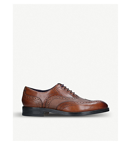 f837ba8038a3b0 ... TED BAKER Almhano wingtip leather oxford brogues (Tan. PreviousNext
