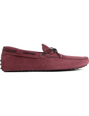 TODS Scoubidou driver shoes