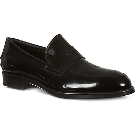 TODS Gomma Formale loafers (Black