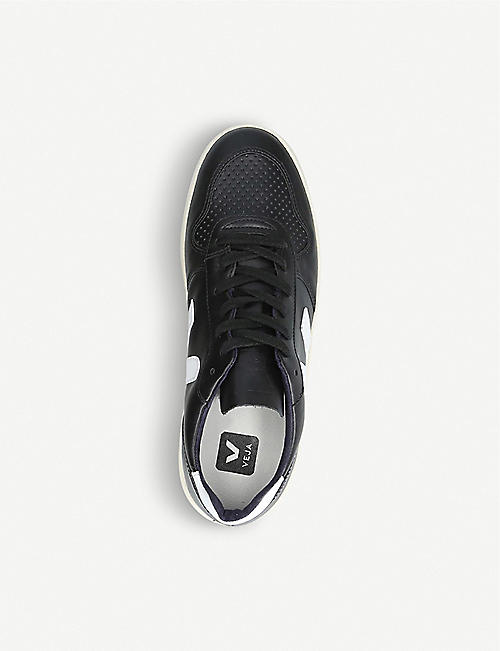VEJA V10 leather trainers