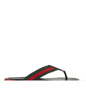 GUCCI SL73 thong sandals