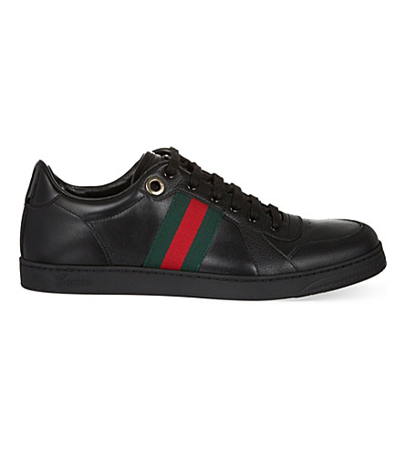 GUCCI Coda webbing low sneakers (Black