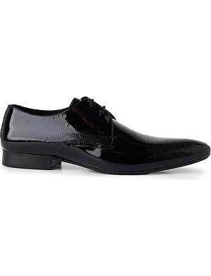 H BY HUDSON Dollar perforated Derby shoes