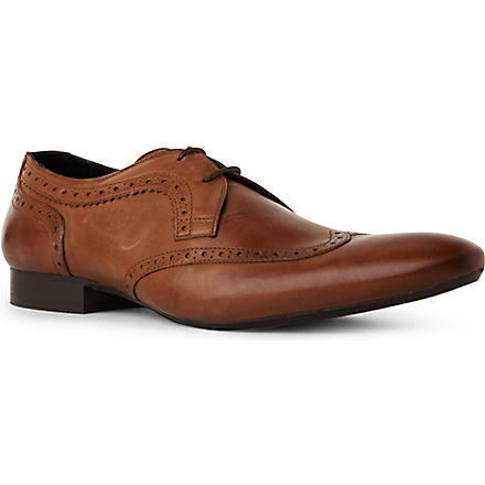 H BY HUDSON Franklin wingcap shoes (Tan