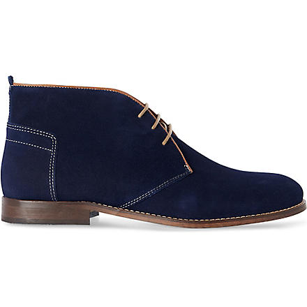 H BY HUDSON Vasa boots (Blue