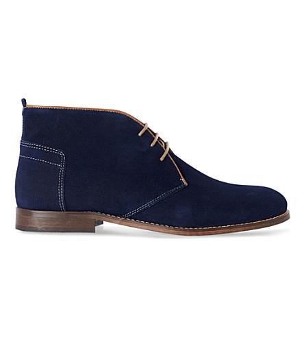 H BY HUDSON Vasa boots (Blue