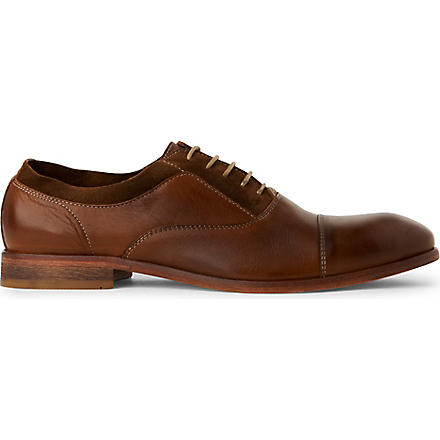 H BY HUDSON Habana Oxford shoes (Tan