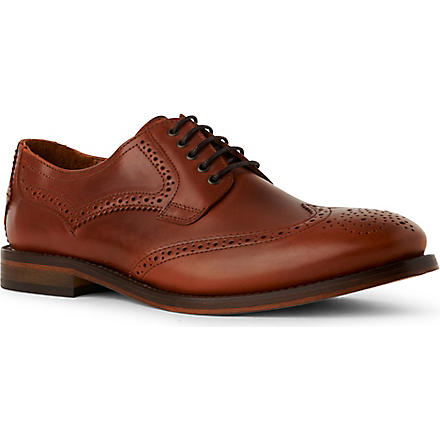 H BY HUDSON Haskin Derby shoes (Tan