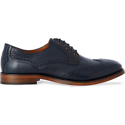 H BY HUDSON Haskin Derby shoes (Navy
