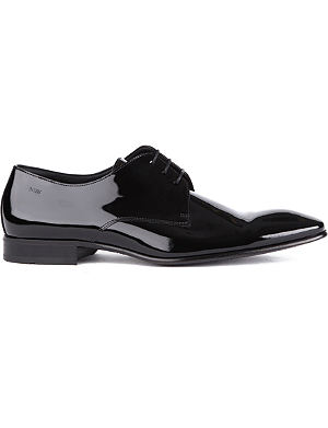 HUGO BOSS Cristallo chisel Derby shoes
