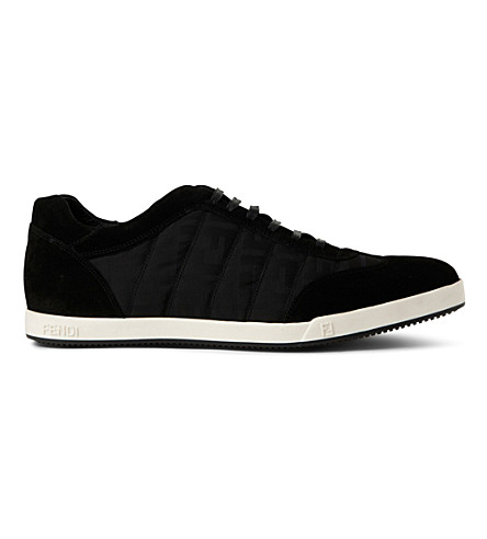 FENDI Agassi tennis trainers (Black