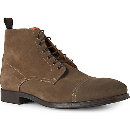 PAUL SMITH Cesar Chukka boots (Beige