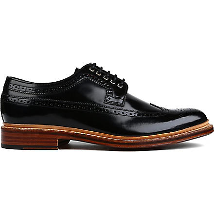 GRENSON Sid Derby shoes (Blk/other