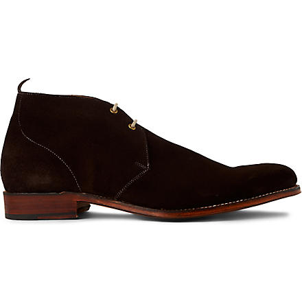 GRENSON Silas boots (Dark+brown