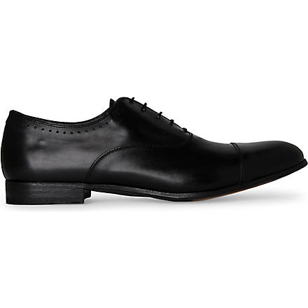 OFFICINE CREATIVE Naples Oxford shoes (Black