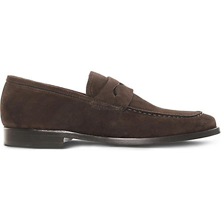 KURT GEIGER Ashton loafers (Brown