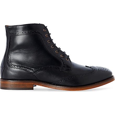 H BY HUDSON Bloomfield boots (Black