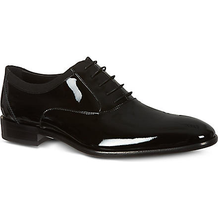 FERRAGAMO Aiden Oxford shoes (Black