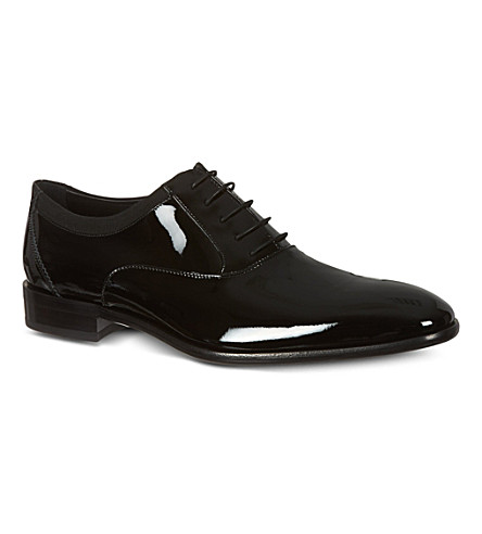 SALVATORE FERRAGAMO Aiden Oxford shoes (Black