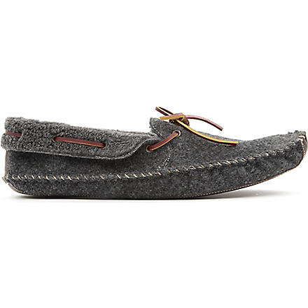 H BY HUDSON Herbert slippers (Grey