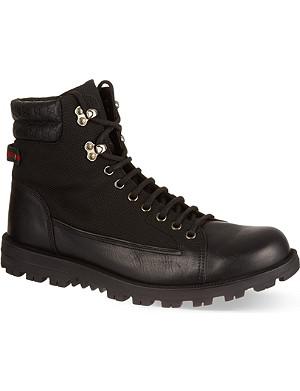 GUCCI Meguro trekking boots