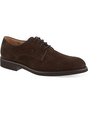 TODS Fondo plain oxford shoes