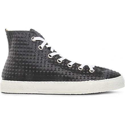 KURT GEIGER Dexter high tops (Black