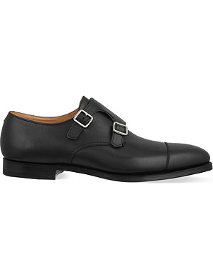 CROCKETT & JONES Lowndes double monk shoes