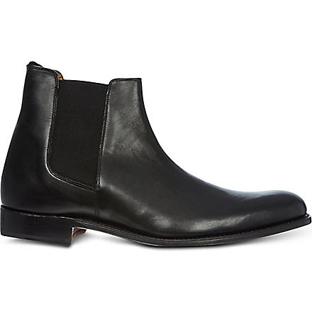 GRENSON Declan leather Chelsea boots (Black