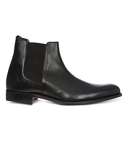 GRENSON Declan leather Chelsea boots (Black
