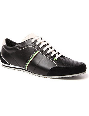HUGO BOSS Victoire leather trainers