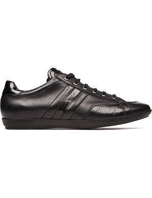 HUGO BOSS Webio leather trainers