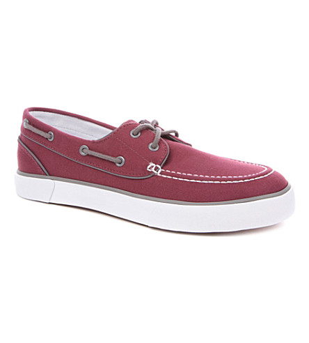 POLO RALPH LAUREN Lander boat shoes (Wine