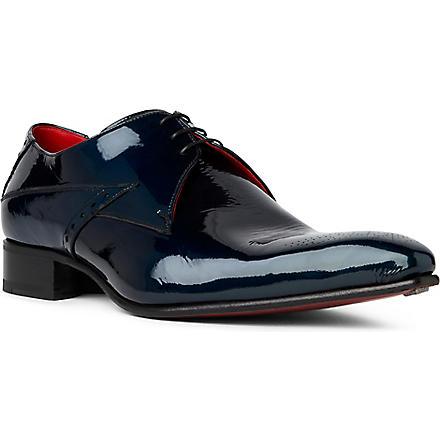 JEFFERY WEST Fallen Angel Zeppa Derby shoes (Turquoise
