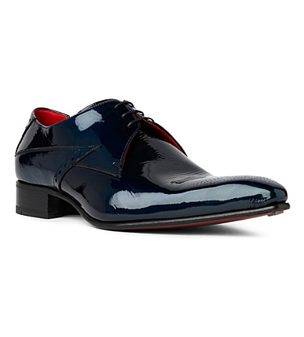 JEFFERY WEST Fallen Angel Zeppa Derby shoes (Turquoise