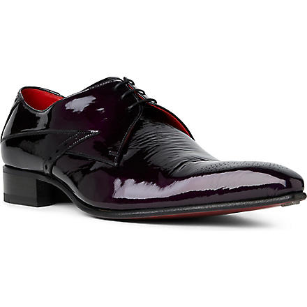 JEFFERY WEST Fallen Angel Zeppa Derby shoes (Purple