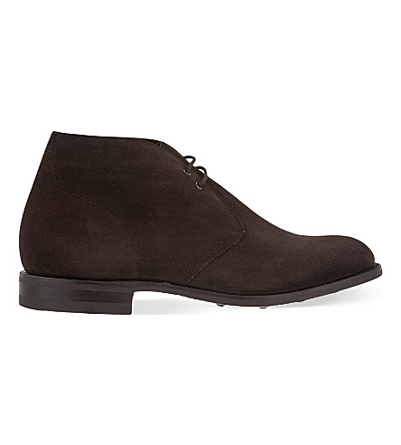 CHURCH Sahara suede Chukka boots (Brown