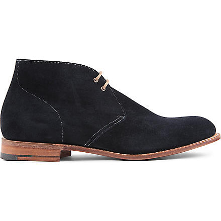 CHURCH Sahara Chukka boots (Navy