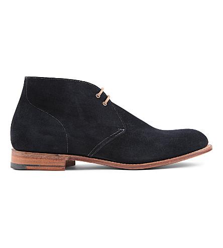 CHURCH Sahara Chukka boots (Navy