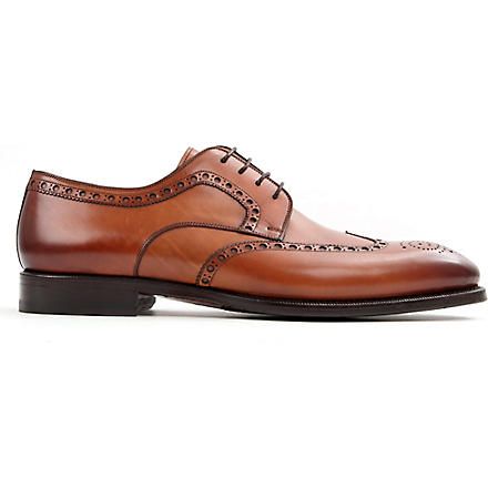MAGNANNI Derby brogues (Tan