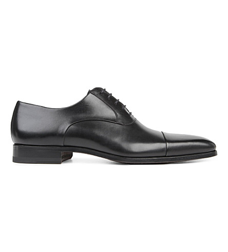 MAGNANNI Toe-cap Oxford shoes (Black