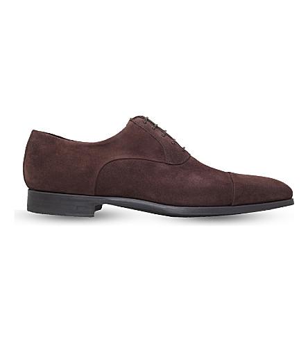 MAGNANNI 防护鞋头牛津鞋履 (布朗